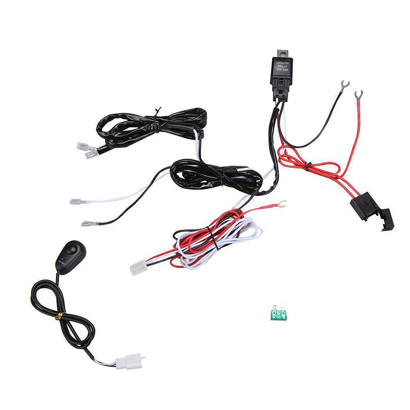 wiring harness switch relay kit for offroad driving work