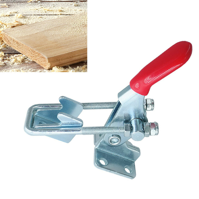 163Kg 359Lbs Safety Toggle Clamp Hand Tool Horizontal Clamp Quick Release Tool