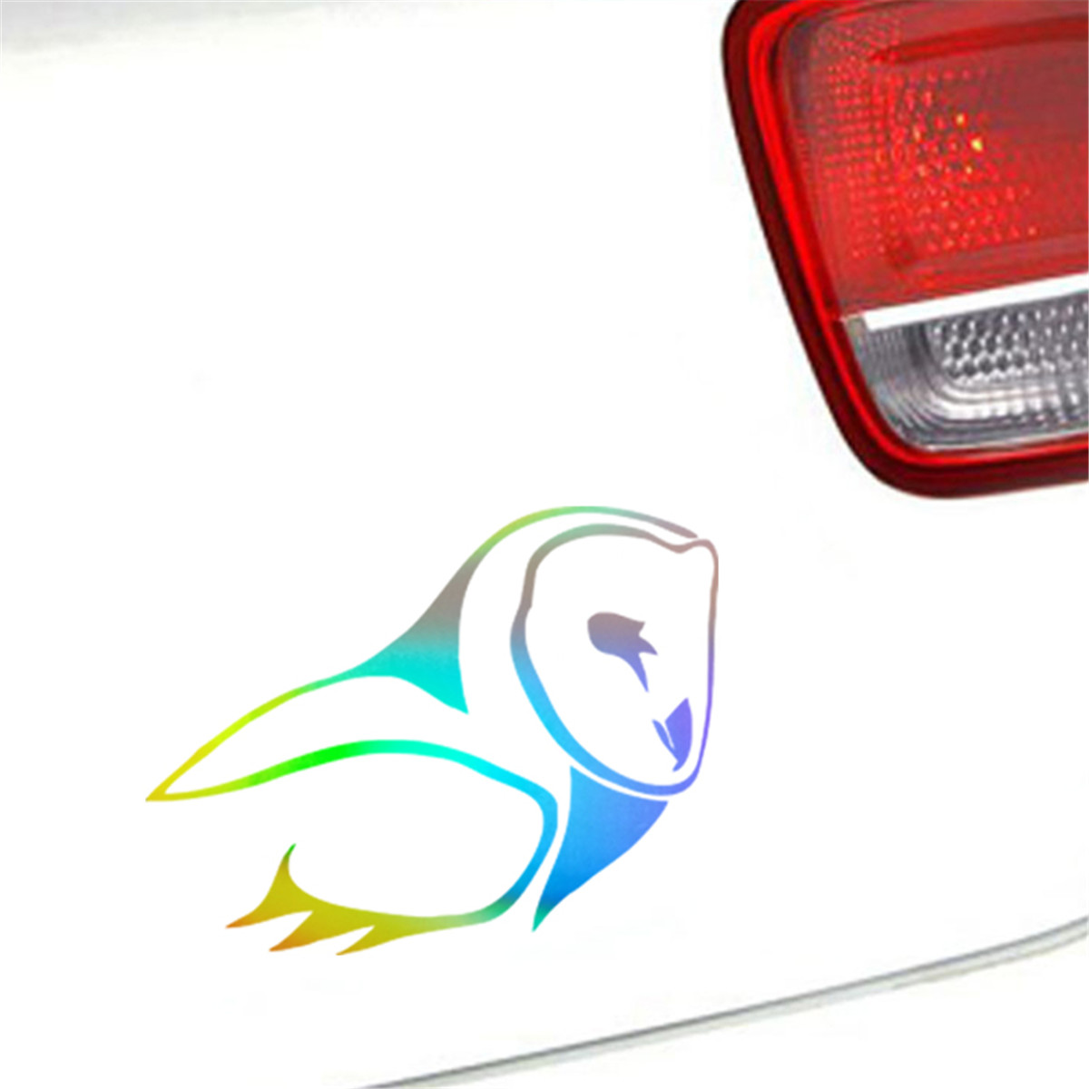 Tribal Owl Bird Wise Funny Wall Sticker Car Window Bumper