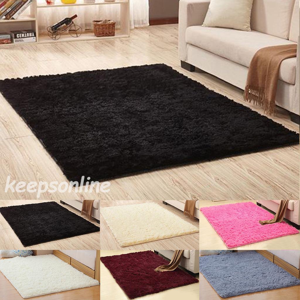 Shaggy Area Rugs Floor Carpet Living Room Bedroom Rugs Soft Large