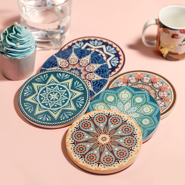 Hollow Coaster Mat Pad Cushion Drinks Tea Cup Tableware Placemat Decoration CA