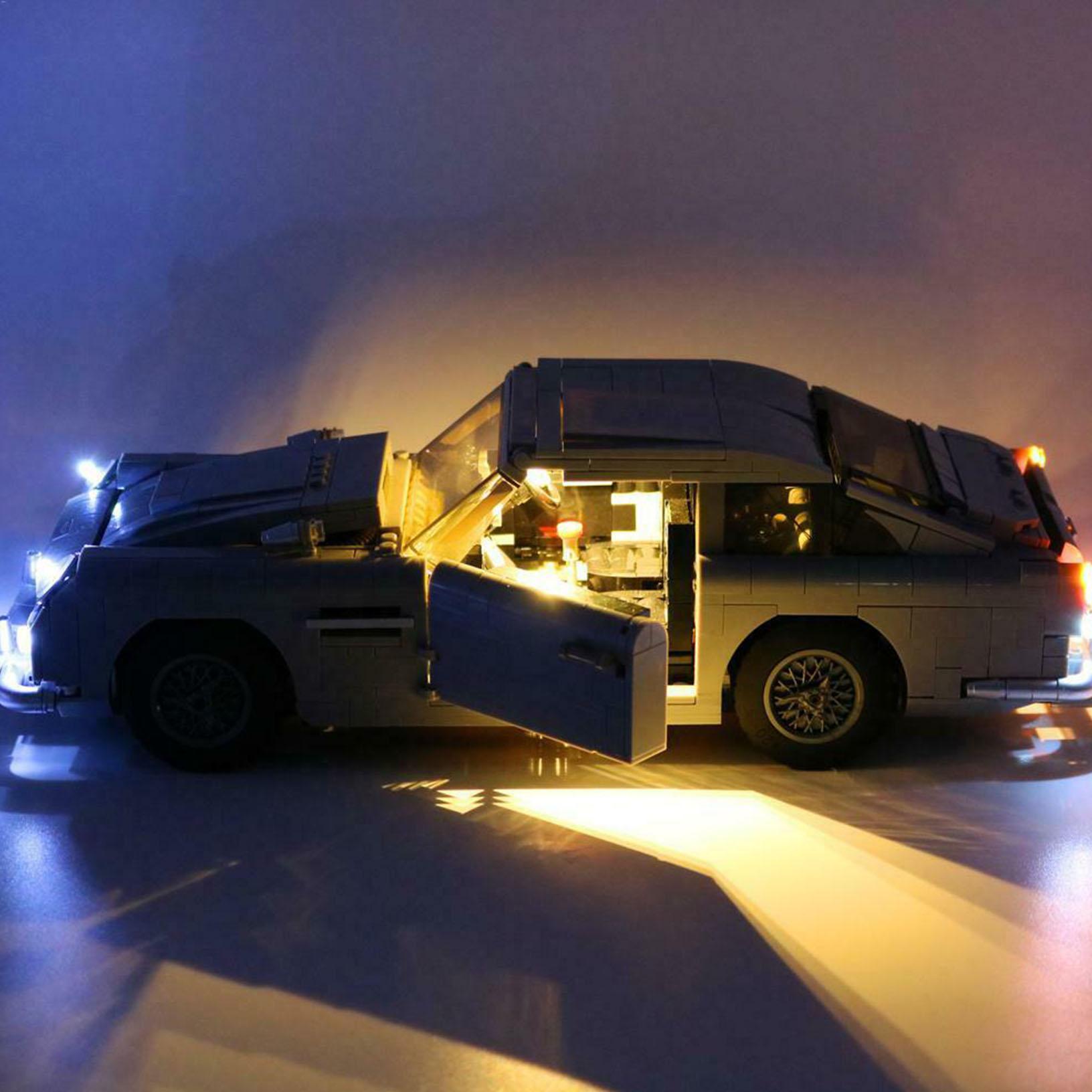 LED Light Kit For 10262 DB5 Creator James Bond lighting bricks A2H9