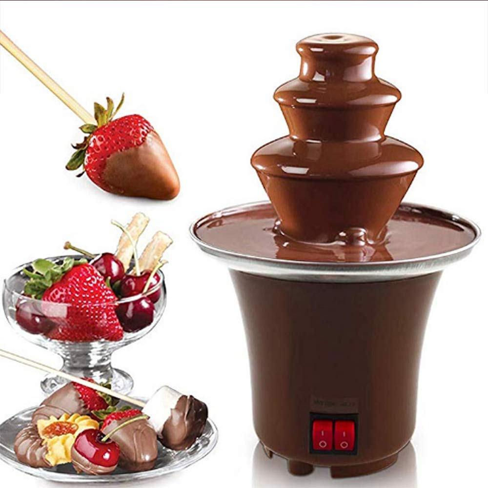 10x Chocolate Dipping Forks Party Fondue Fountain Cake Decorating Tool 6T