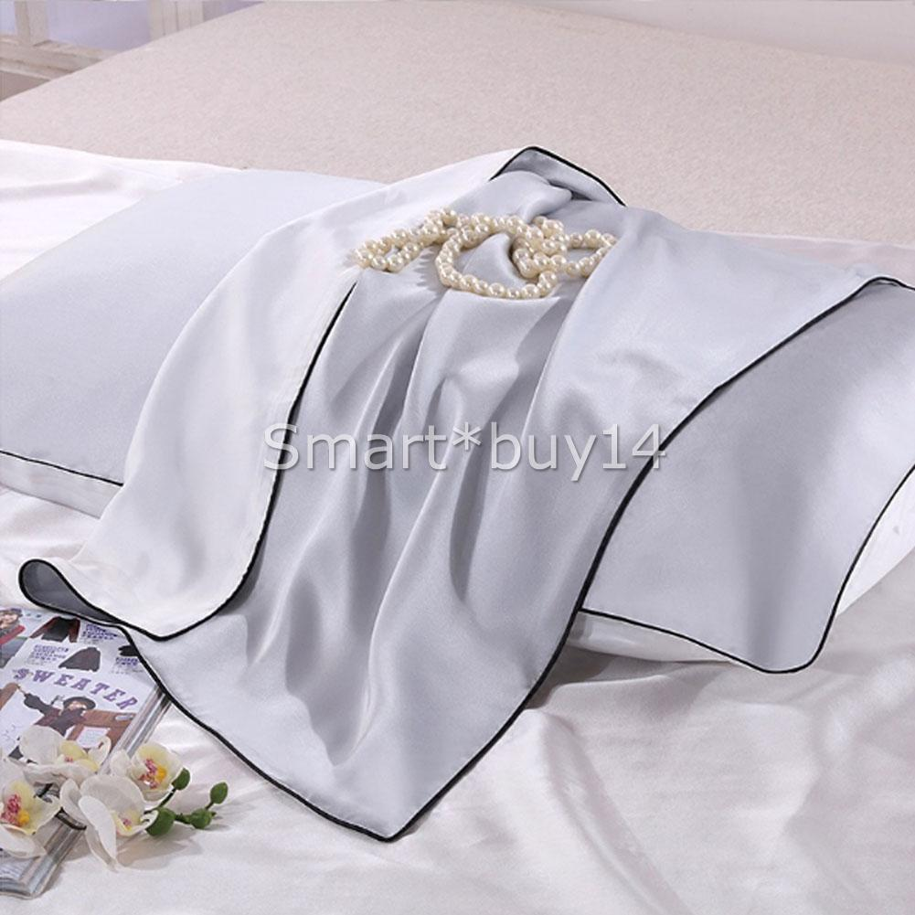 100 Mulberry Silk Pillow Case 25 Momme Slip Anti Wrinkle