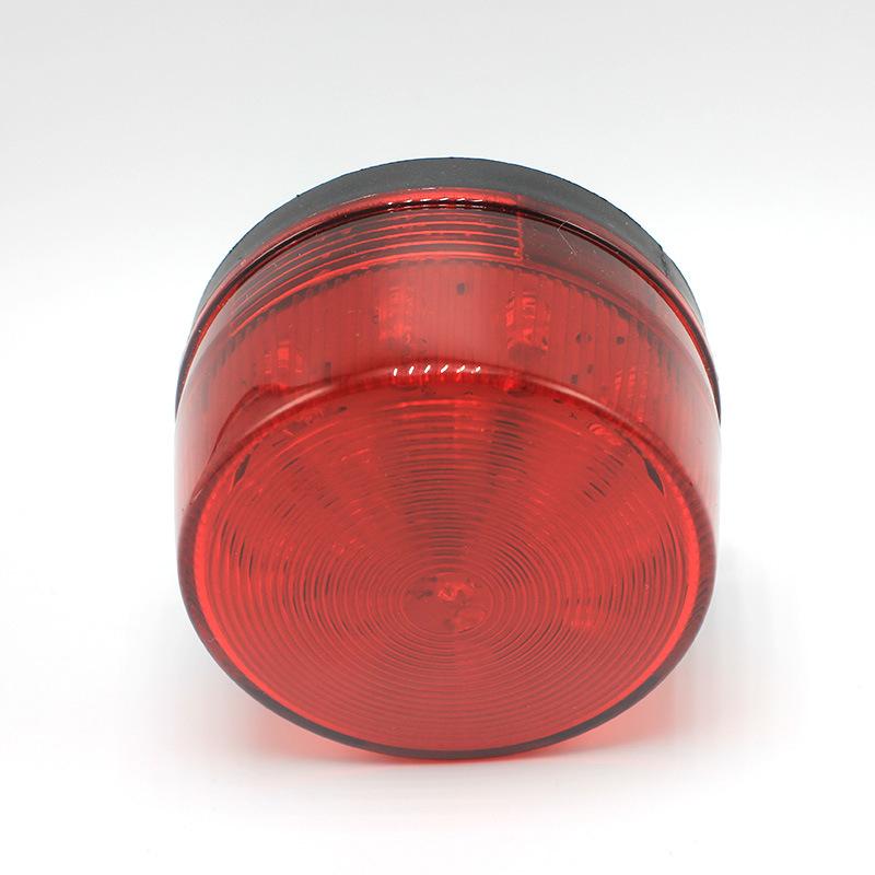 Univercal LED 12V Strobe Light Signal Warning Lamp Security Red Car RV Vehicle