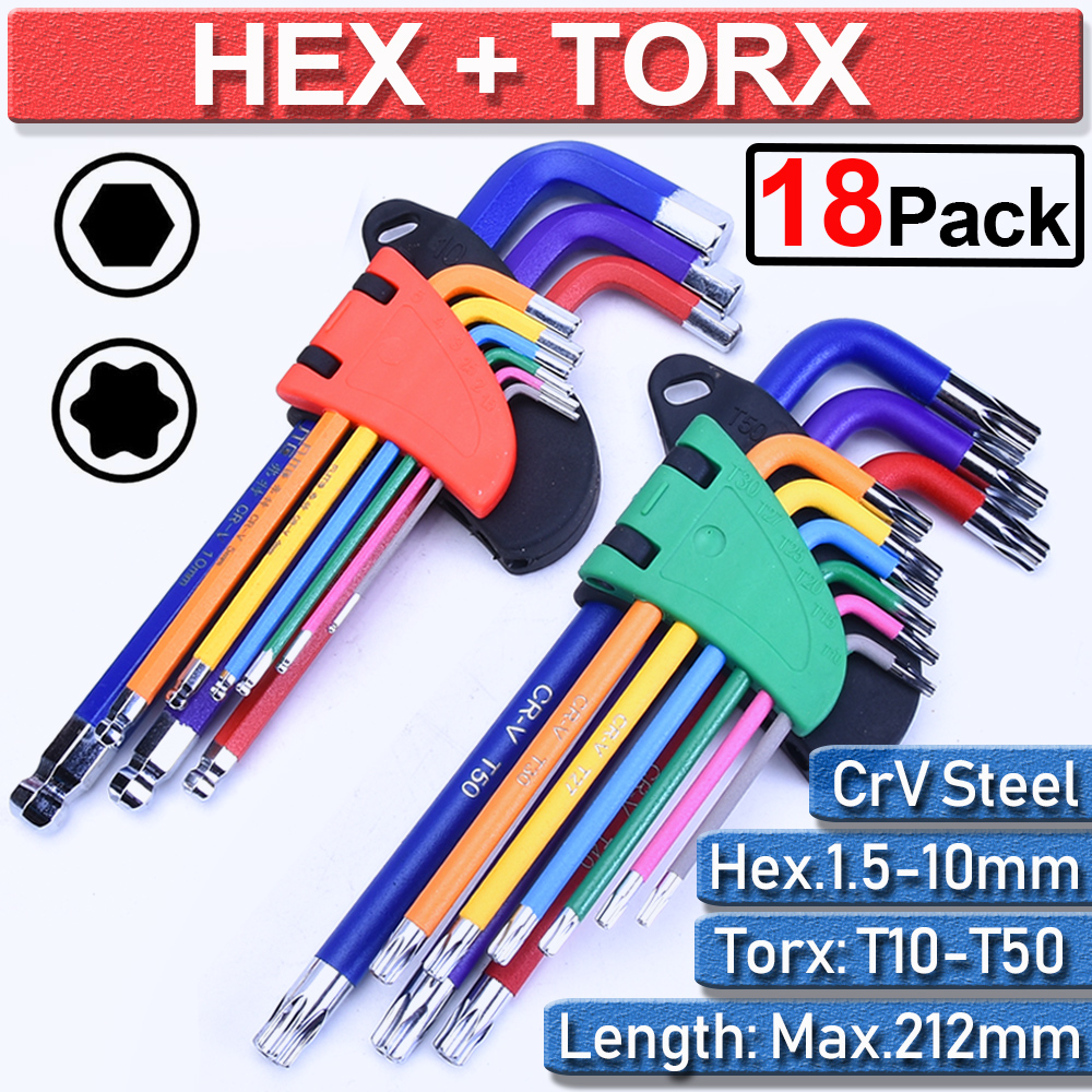 KENNEDY T45 torx torque key Hardened L shape 6 points star key