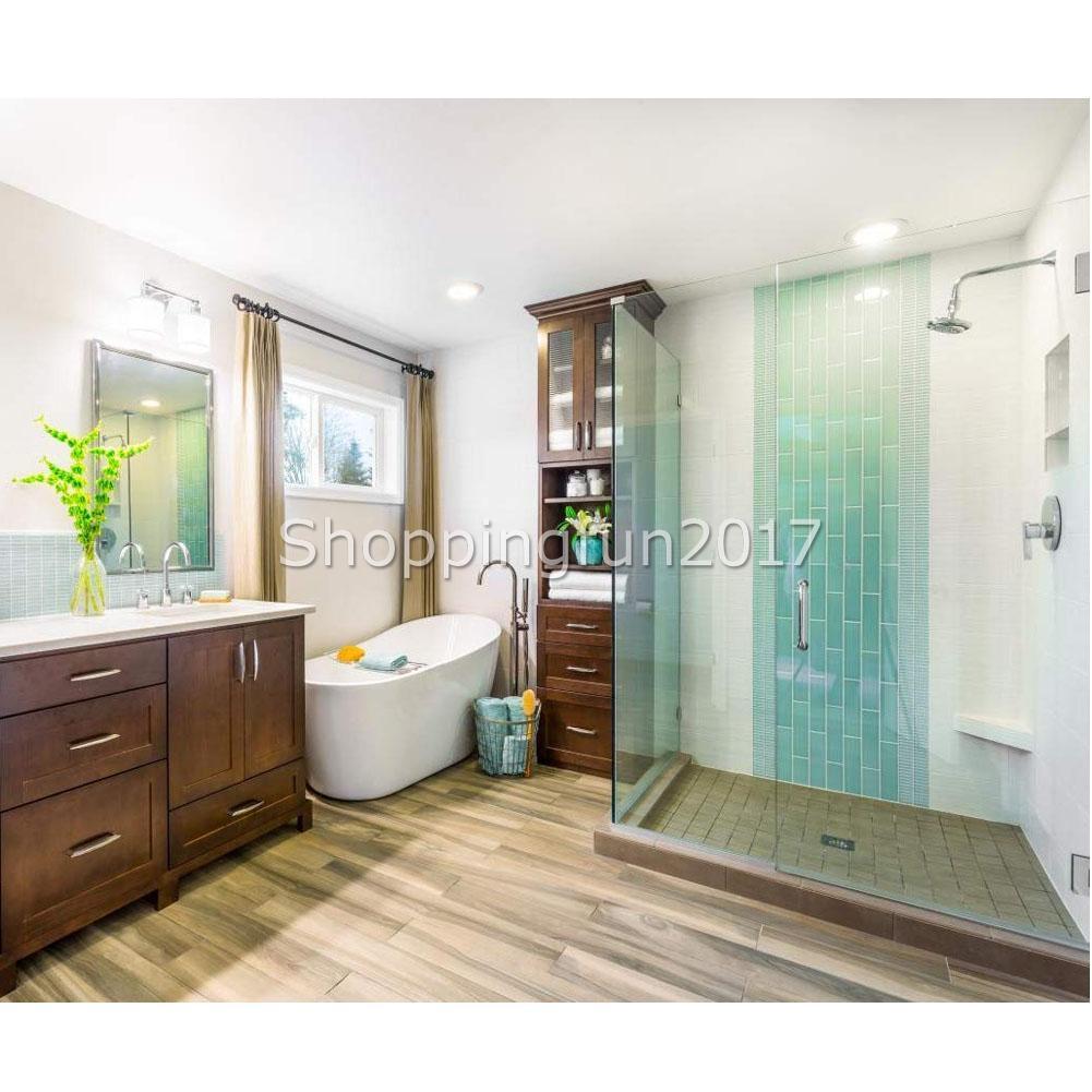 100cm Home Frameless Shower Door Bottom Seal Sweep Glass ...