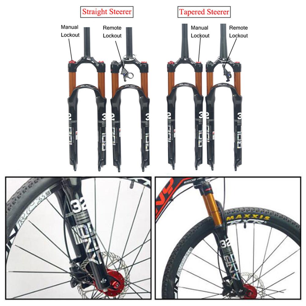 LRG full carbon fiber mountain bike fork bicycle disc brake 26 ER// 29 ER