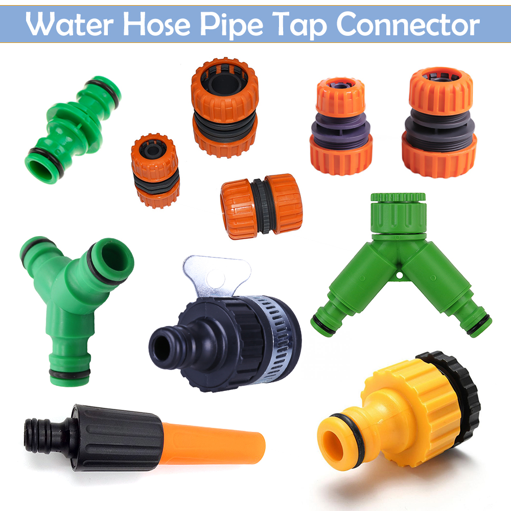 Hozelock compatible, Angled hose connector for use with hose carts