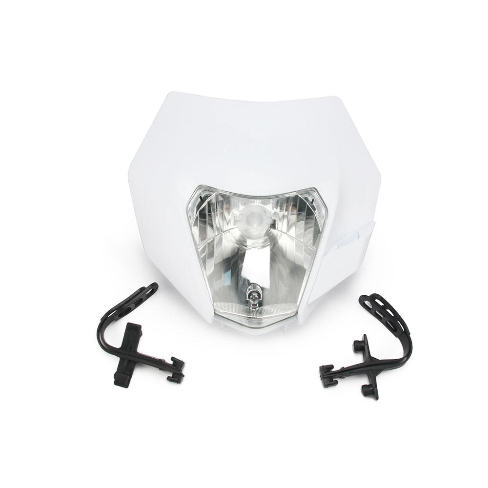 Supermoto Dirt Bike LED Vision Headlight Motocross Head