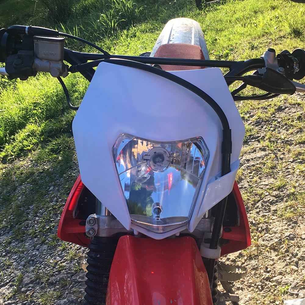 Dirt Bike Streetfighter Enduro LED Headlight For Honda XR