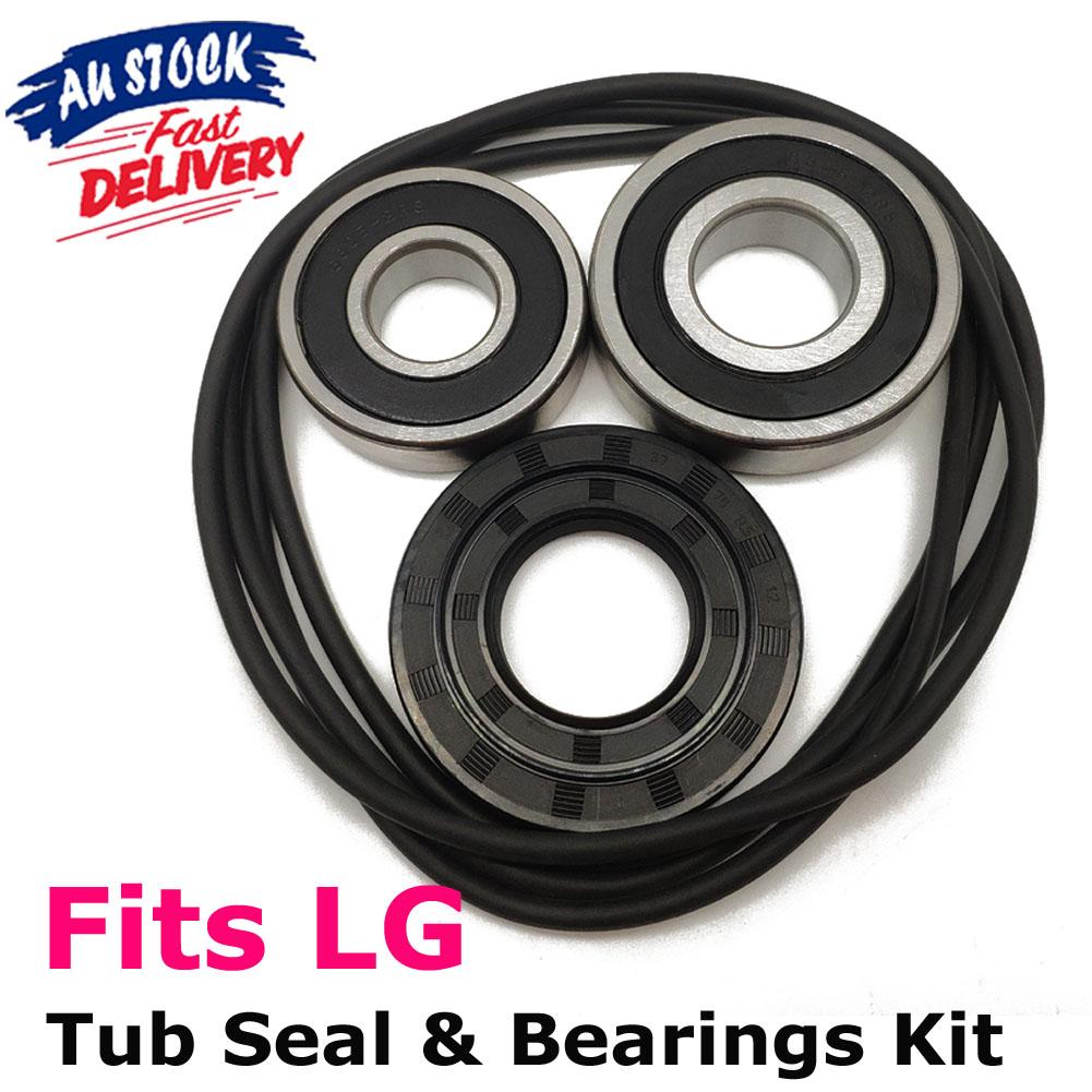 LG Direct Drive Washing Machine Drum Shaft Seal Bearing Kit WD14030D WD14030D6