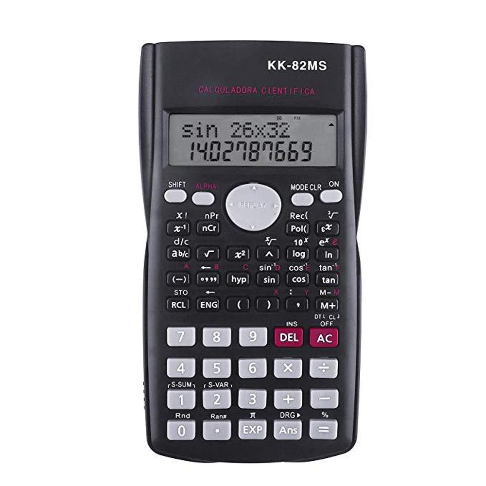 Büro-12Stelliger Elektronischer Wissenschaftlicher Taschenrechner Doppelnetzteil