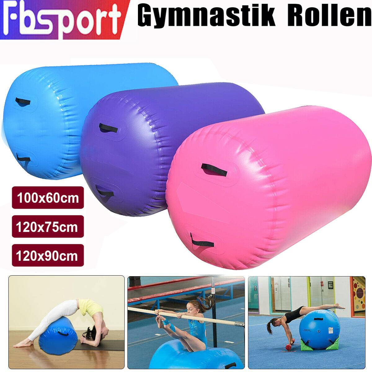 1M Air Track Air Block Gymnastik Zylinder Luft Training Rollen Hilfsrolle Gym