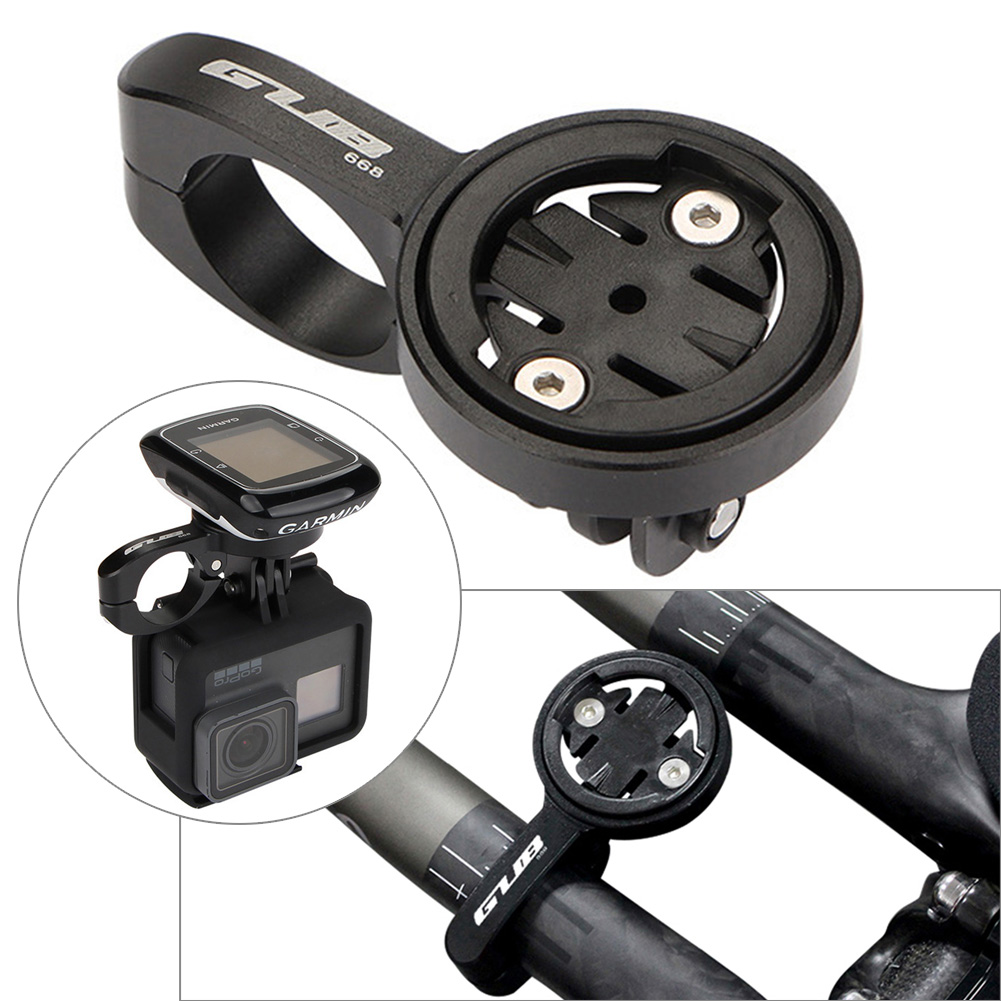 FOURIERS CNC 31.8mm MTB Handlebar Carbon Tube Computer Mount Holder Adapter S002