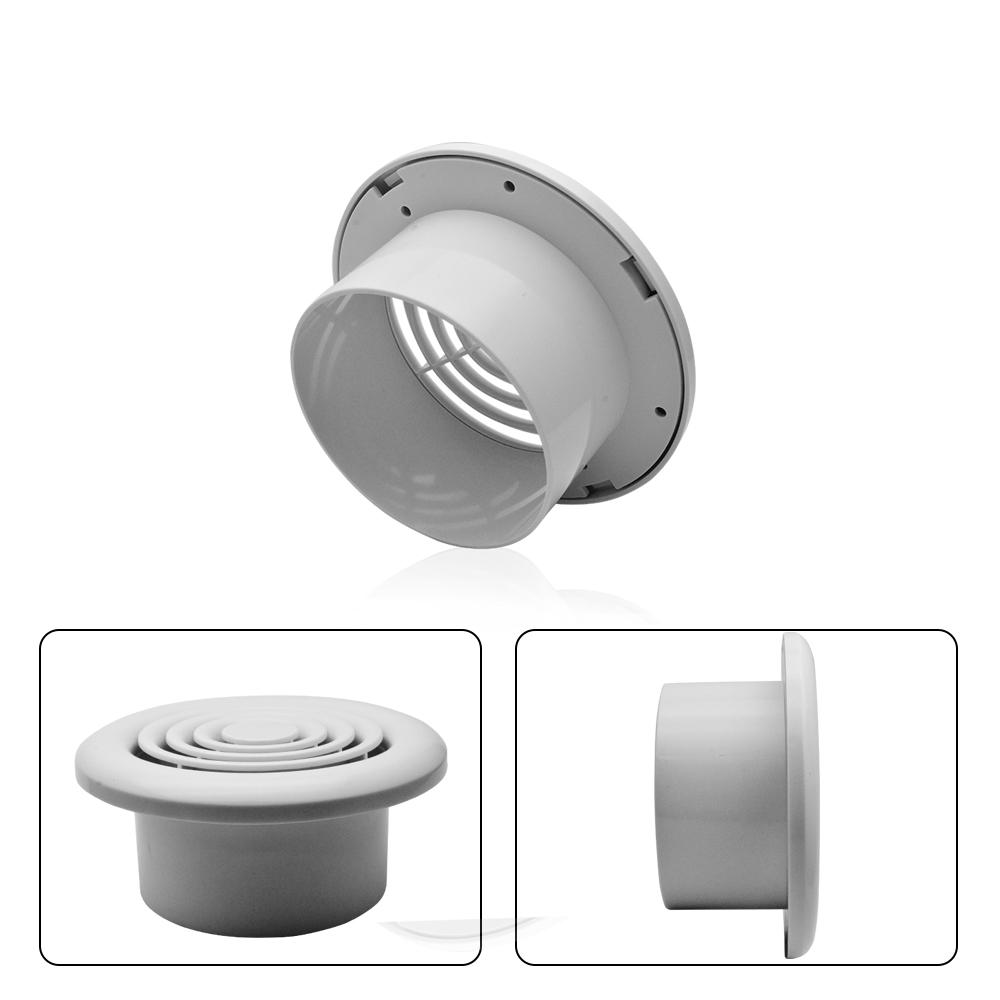"""Decke Luft Diffusor Entlüftung Weiß Rund 4/"""" 100mm Grille für Badezimmer Toilette"""