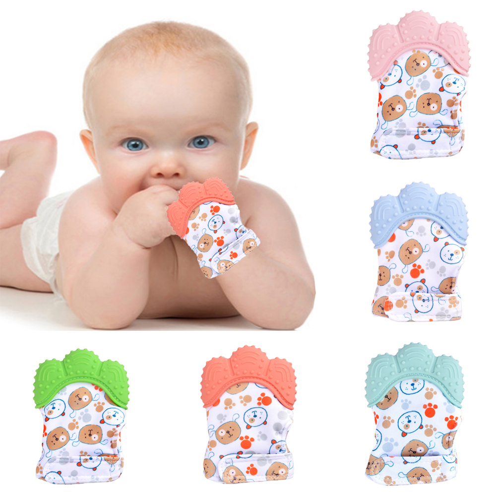 Baby Frog Molar Toy Relieve Long Tooth Pain Teething Chewing Ring Baby Teether