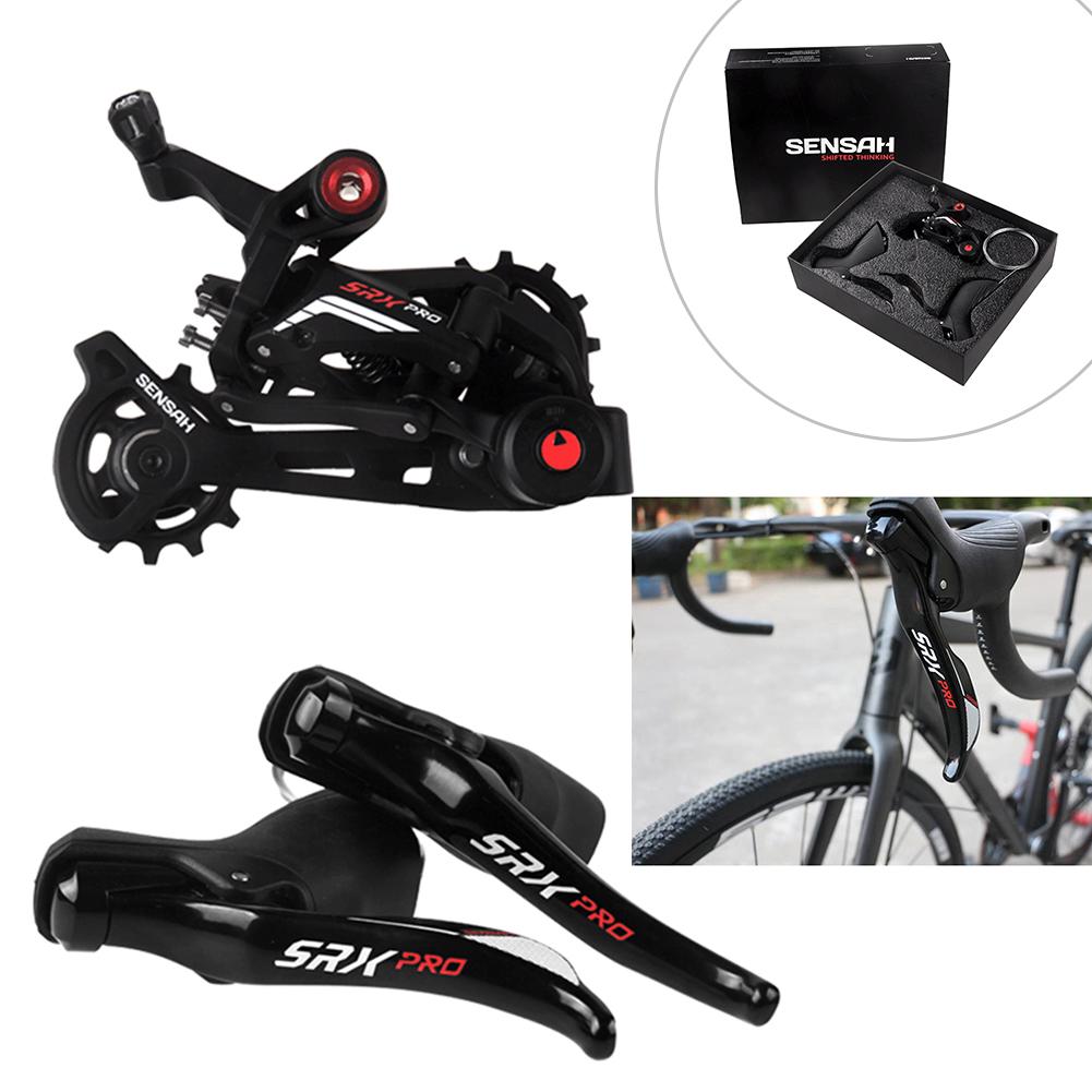 SENSAH SRX PRO Rennrad 1x11 Speed Shift Kit Schaltbremshebel Umwerfer Fahrrad