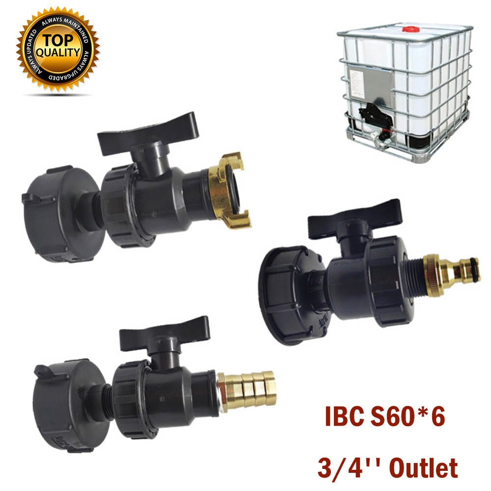 Garden Hose IBC Hoselock Fitting for IBC Outlet Tap