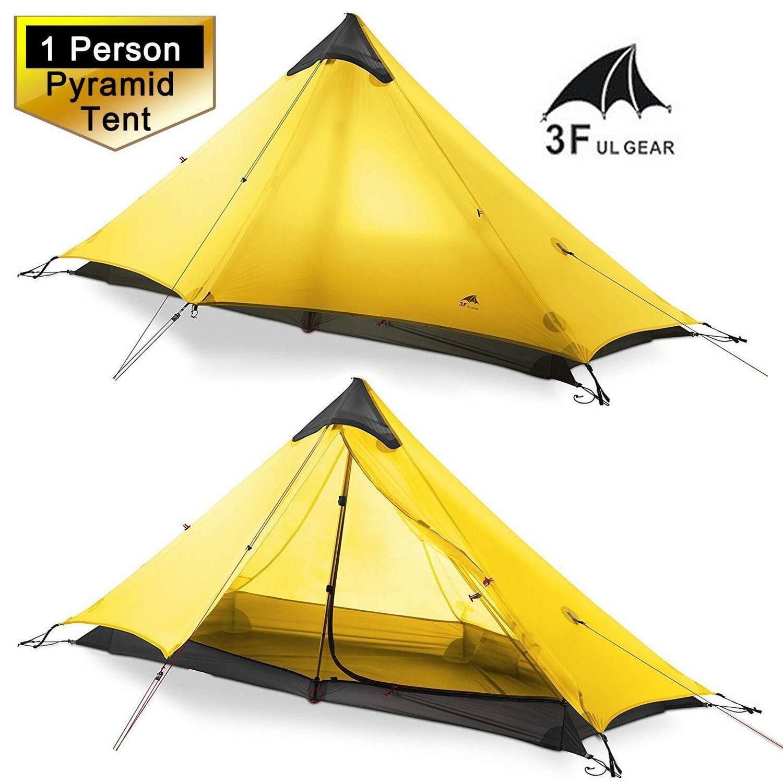 3F UL GEAR LanShan 2 Person Oudoor Ultralight Camping Tent 3 Season Professional