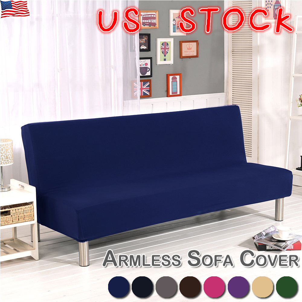 Phenomenal Details About Sofa Bed Stretch Seater Cover Lounge Protector Futon Couch Slipcover Armless Us Download Free Architecture Designs Scobabritishbridgeorg