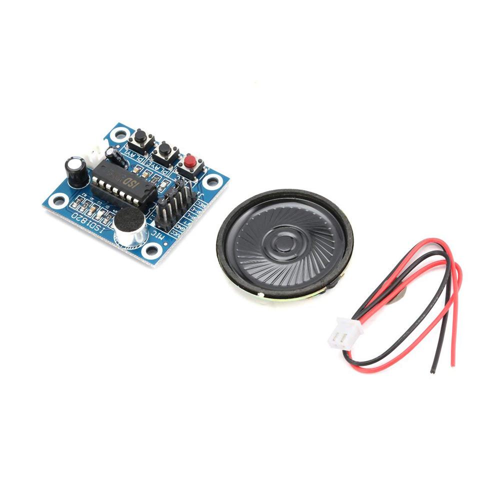 ISD1820 Ton Sprach Aufnahme Wiedergabe Modul mit Mikro Schall Audio Lautspr