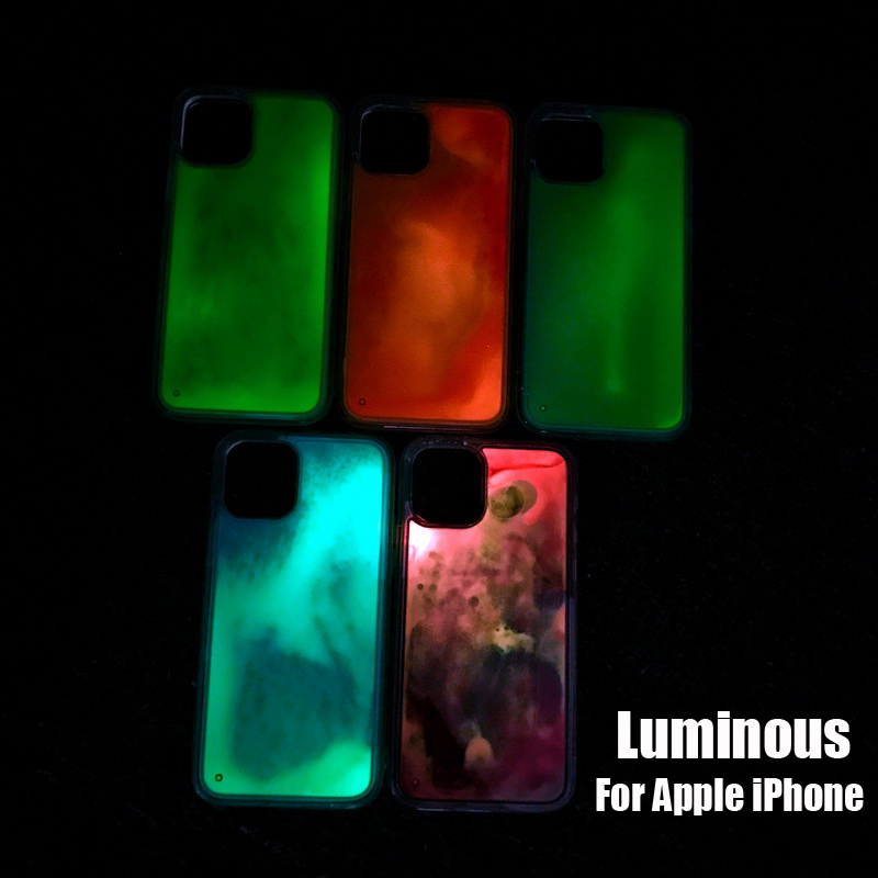 Neon Marble iphone 11 case