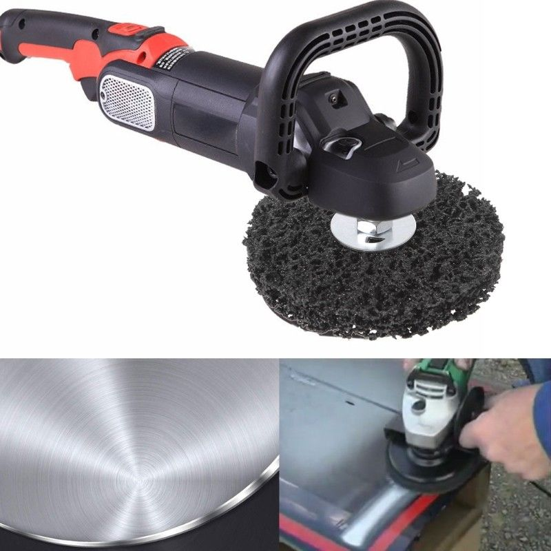 1-10tlg Grob Reinigungsscheibe Grobreinigungsvlies CSD 100mm Reinigungsscheiben