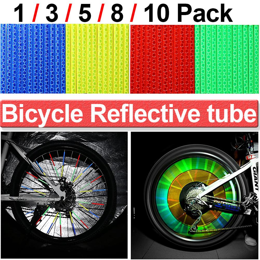 Speichenreflektoren Fahrrad Reflektor Sicherheit Bike Strahler Nacht Rad Licht
