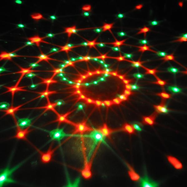 Croled-Cristal-MP3-Dj-Club-Disco-Fete-Boule-Magique-Scene-12W-Rvb-Feux-Ampoules miniature 3