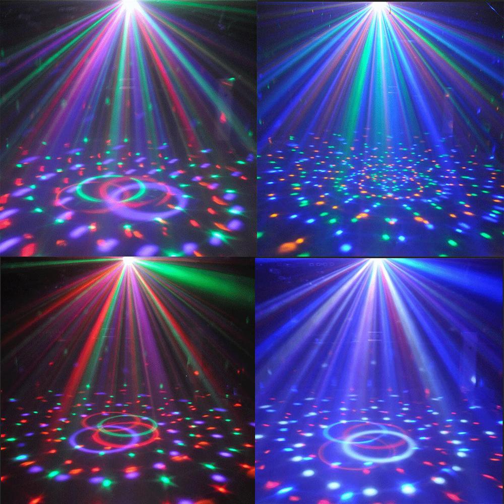 Croled-Cristal-MP3-Dj-Club-Disco-Fete-Boule-Magique-Scene-12W-Rvb-Feux-Ampoules miniature 4