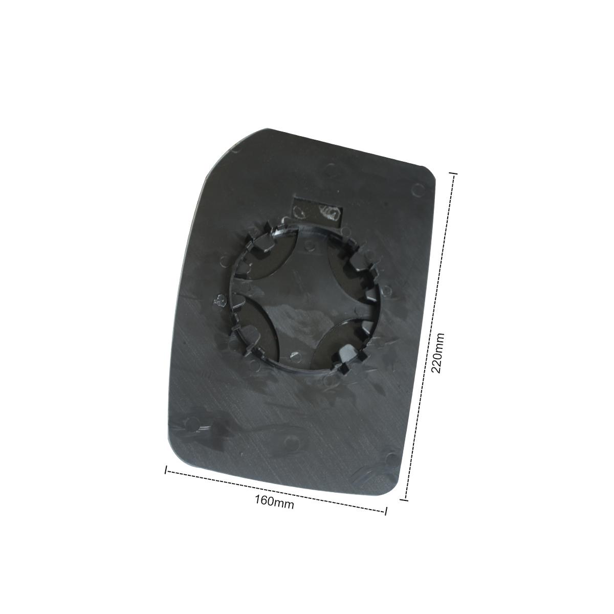 Porte Avant Aile Miroir verre FORD TRANSIT MK6 MK7 2000-2014 conducteurs côté gauche