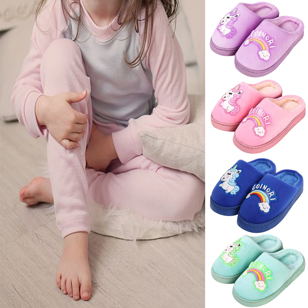 Newborn Baby Toddler Boys Girls Casual Warm Slippers Indoor Home Shoes Booties