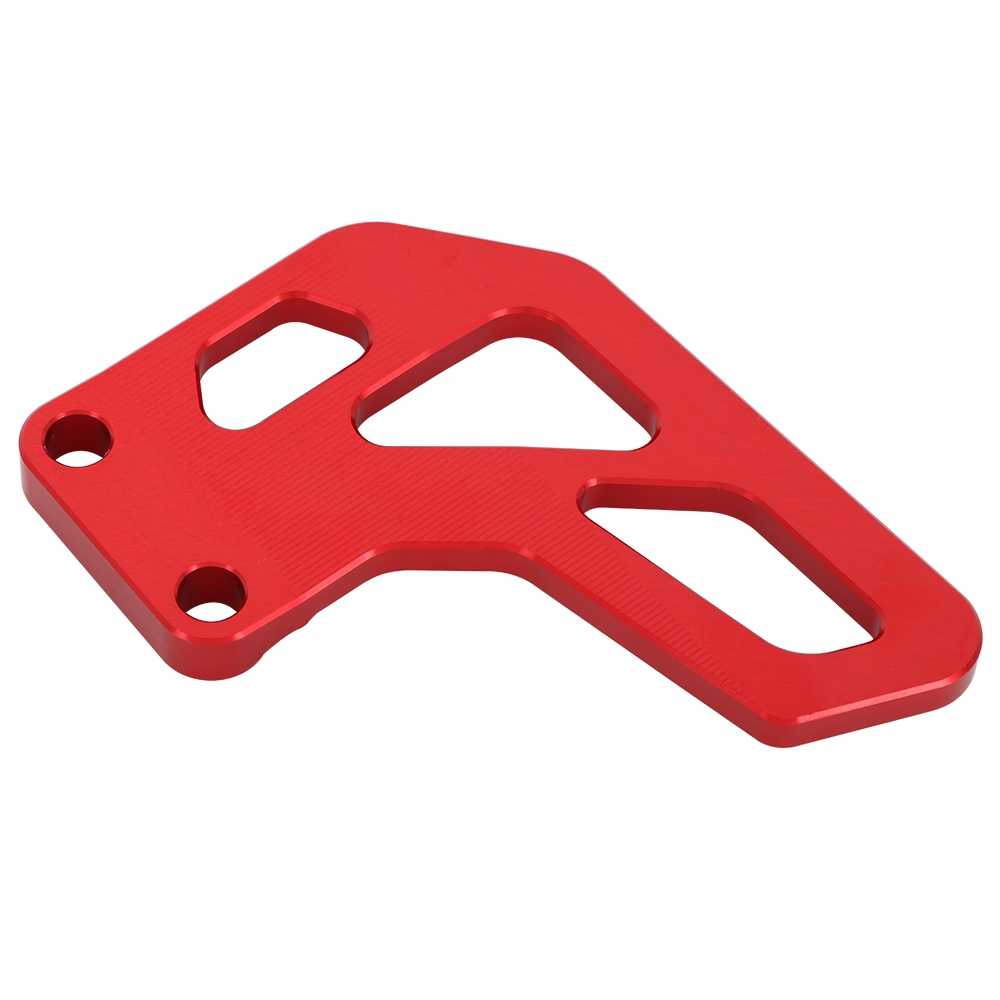 Motorcycle Chain Guard Guide Protection CNC Aluminum Fits for Honda XR100R 1985-2003 XR80R 1985-2003 CRF100F 2004-2013 CRF80F 2004-2013 Motorbike Motocross Red