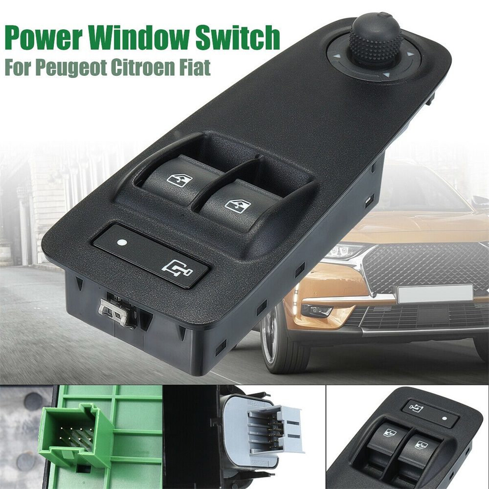 ELECTRIC POWER WINDOW SWITCH CONTROL BUTTON FOR PEUGEOT BOXER 2006 On