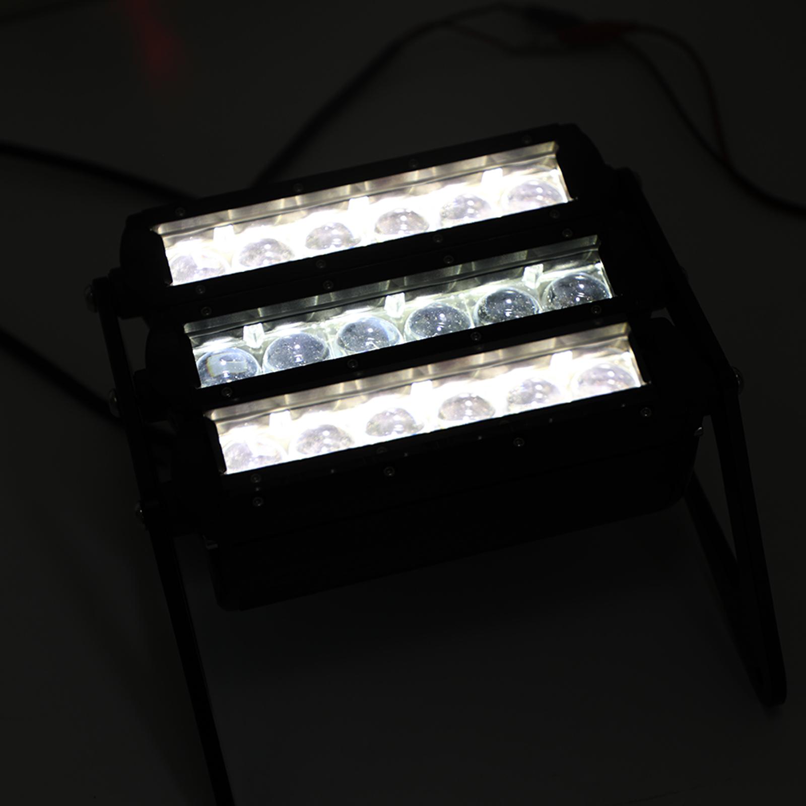 Bruce /& Shark 3 Row LED Motorcycle Headlight Fog Light Aluminum for Honda Grom MSX125 2013-2019