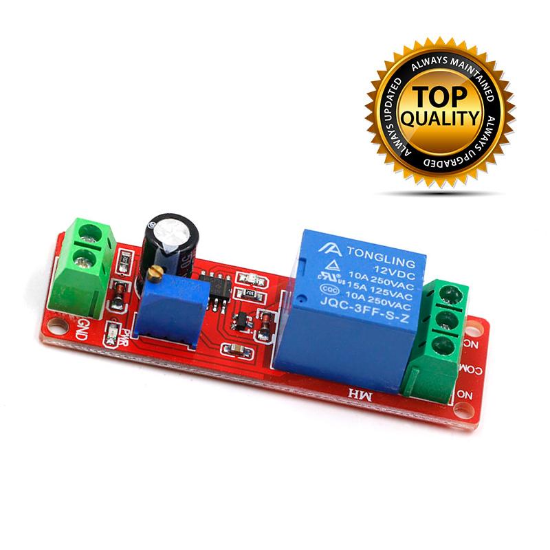 Dc 12v Delay Relay Shield Ne555 Timer Switch Module 0