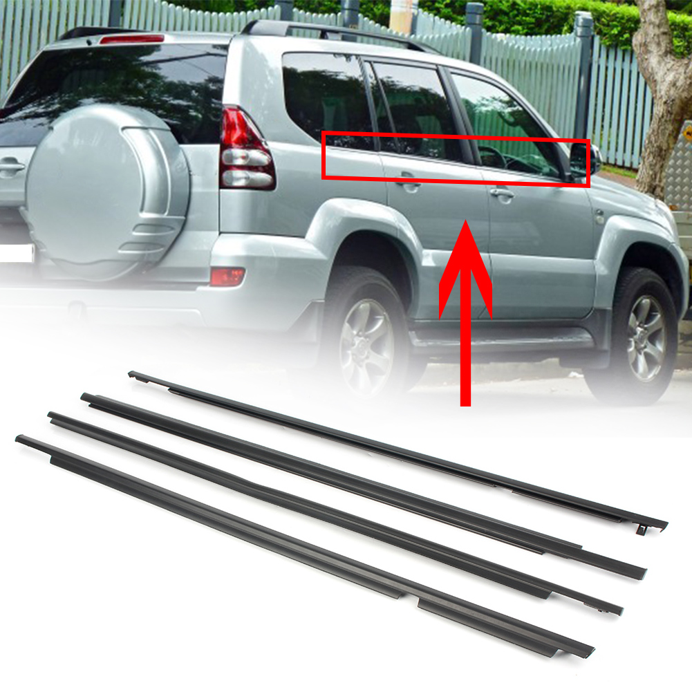 For Toyota Land Cruiser Prado Lexus GX470 03-09 Car Weatherstrips Moulding Trims