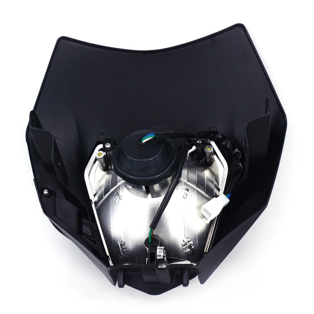 White Headlight Head Lamp Light StreetFighter For KTM Dirt