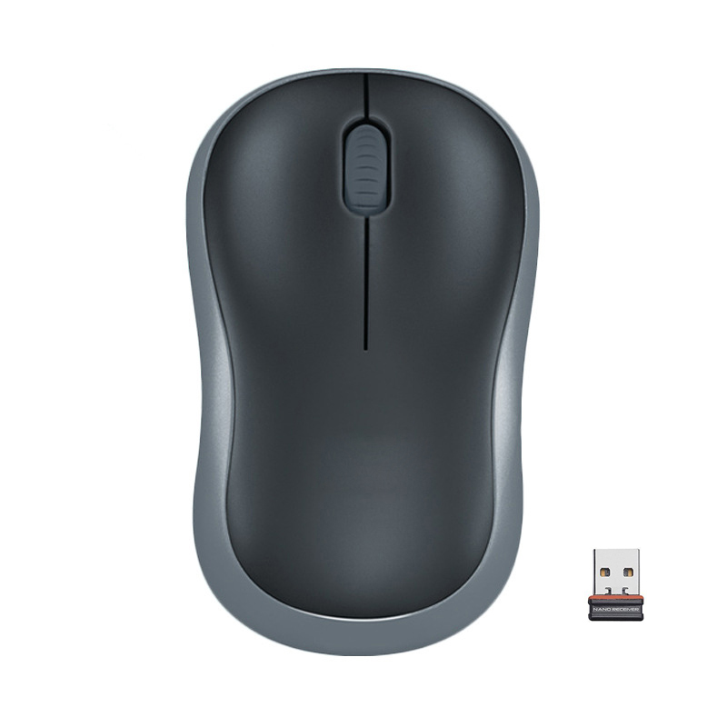 Details about Grey Wireless of Logitech M185 Optical Mouse Compact Use for  PC Laptop MAC Linux