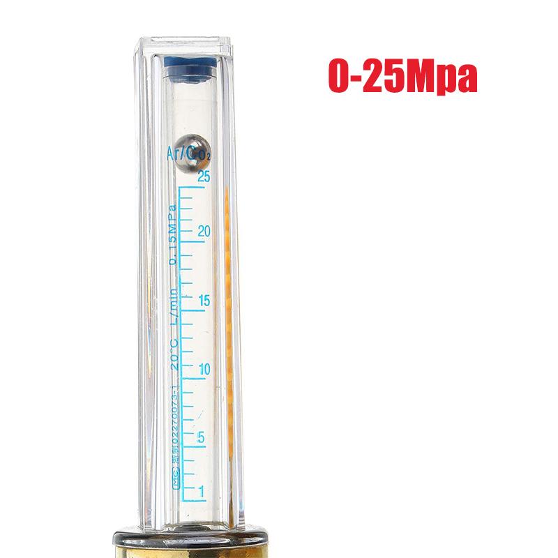 Argon//Co2 Gasdurchflussmesser Skala Tester Durchflussmesser FÜR Mig-Schweißer DE