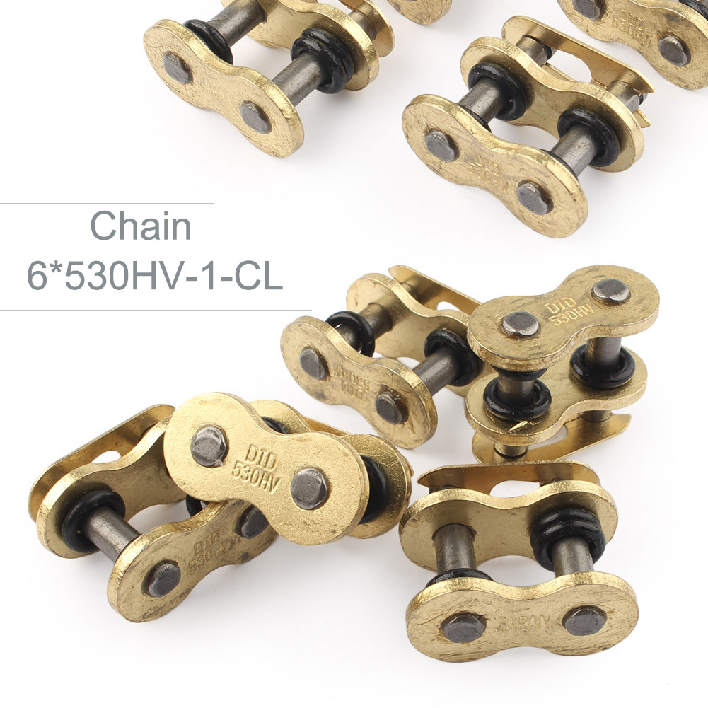 Set of 6 530HV Master Connecting Link O Ring Chain Removal or Maintenance For Go