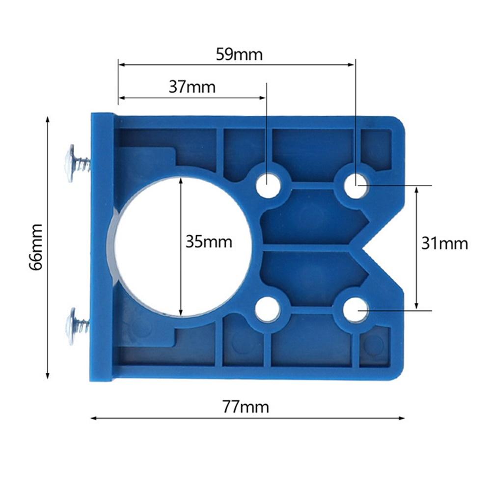 35MM ABS Concealed Hinge Hole Jig For Kitchen Cabinet ...