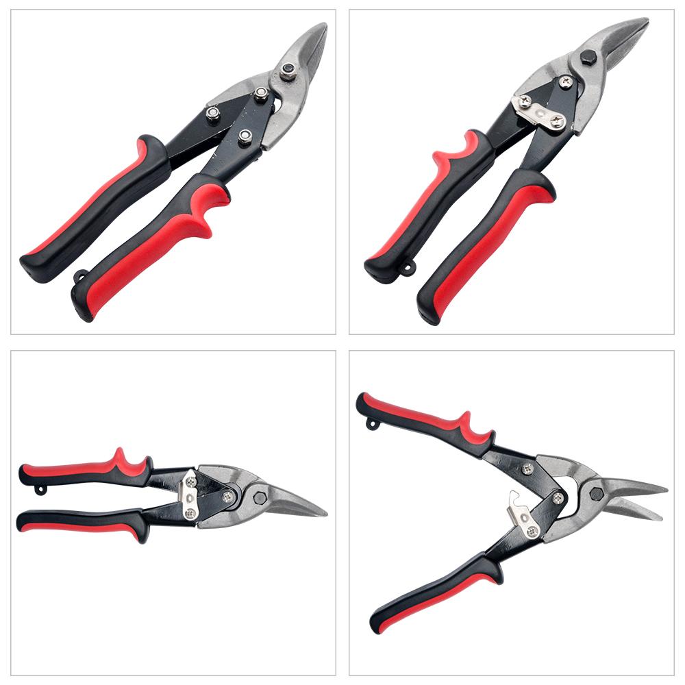 25cm GeradeSchneiden Blechschere Metallschere Metall Scheren Snip Cut Handschere