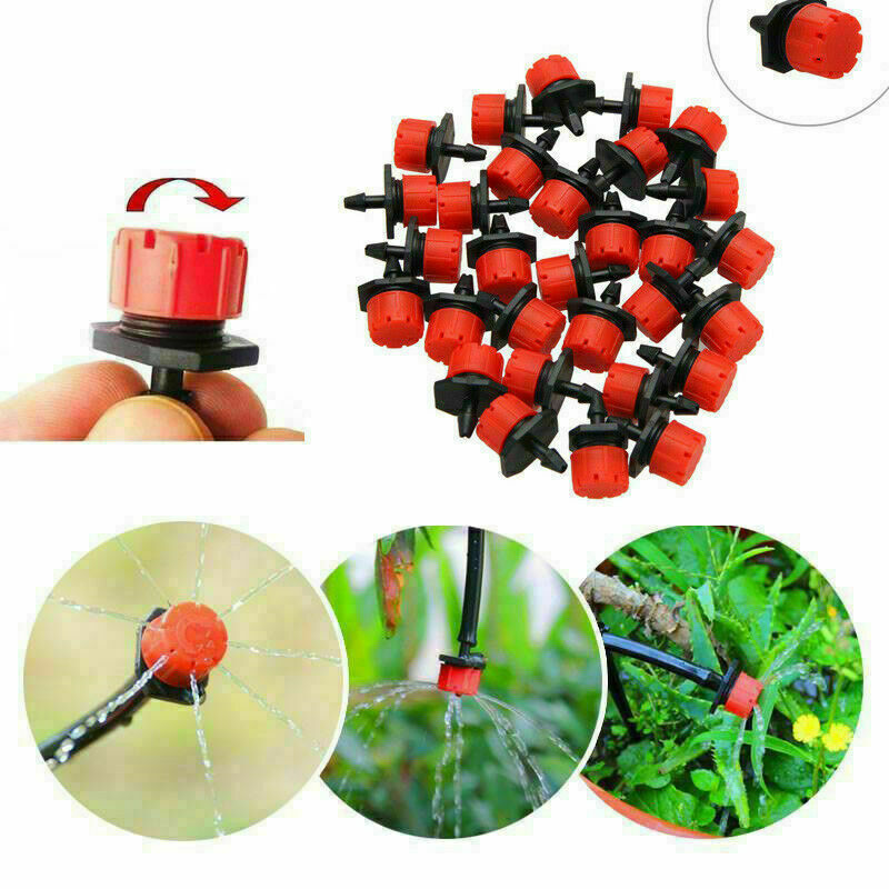 25M Micro Drip Irrigation Watering Automatic Garden Plant ...