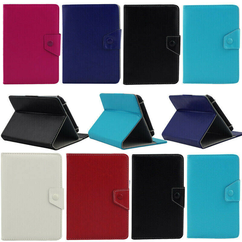 Classic Folio Folding Leather Cover Safe Case For Verizon Ellipsis 7 8 10 In Tab Ebay