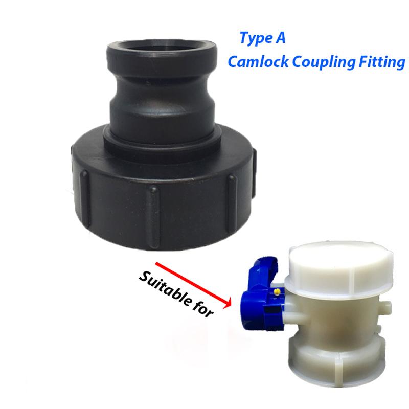 Kamlok Hebelamaturen Hebelarm Adapter Kupplung Camlock Kamlock aus PP Kunststoff
