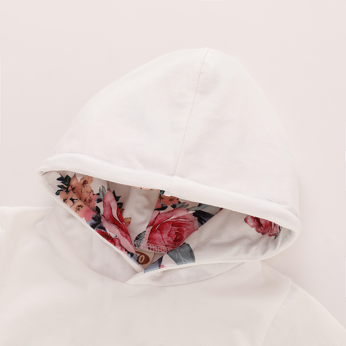 Infant Baby Girls Floral Hoodie Tops Pants Headband Outfit Clothes Set Tracksuit