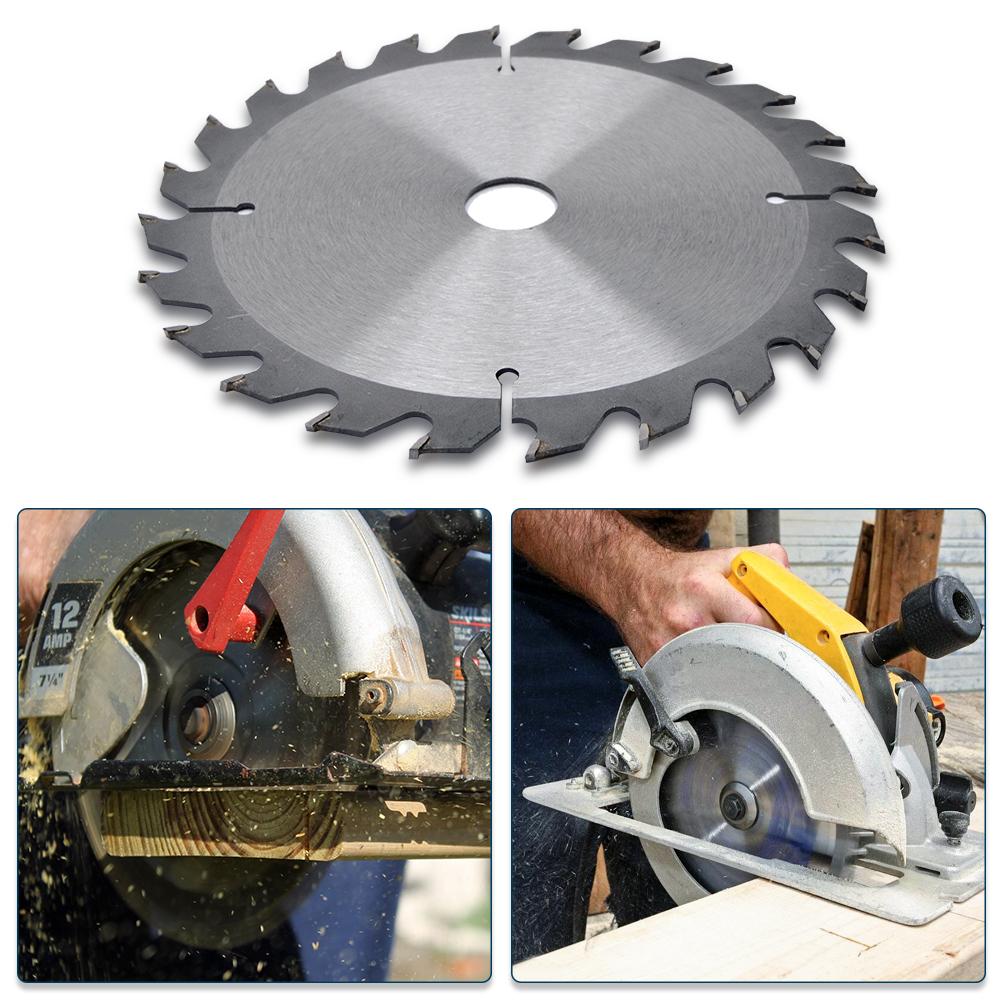 1×12.7cm 40T Lame Scie Disque pour Meuleuse Angle 125mm Bois Coupe Circulaire
